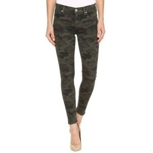 Hudson Nico midrise ankle skinny camo jeans